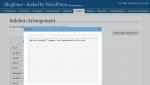 Einfacher und schneller Home Button im WordPress Sidebar