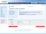 goneo Konfiguration der Webserver Einstellungen - Verzeichnisse